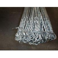 """Quality Hot-Dipped Galvanized Iron Wire Binding Double Loop Tie Wire 6"""" - 22"""" for sale"""