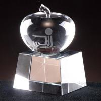 China Crystal Apple Trophy on sale