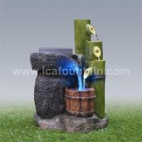 China Bamboo fountains Rotating millstone bamboo fountains on sale