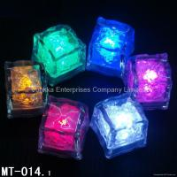 Quality LED flashing Ice Cube (MT-014) with Sensor items for weding party and bar for sale