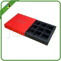 China Chocolate Boxes Decorative The Chocolate Boxes Wholesale With Cardboard Dividers on sale