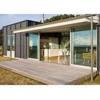 Best Prefab Construction Modern Modular Buildings With Curtain Wall Container Home Kit wholesale