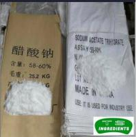 Quality Acidulants sodium acetate anhydrous msds Sodium Acetate Anhydrous for sale