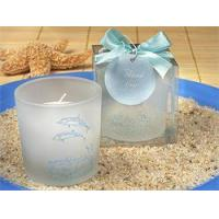 China Double Dolphin Votive Candle on sale