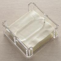 Buy cheap Acrylic Counter Displays Lucite Clear Napkin Holder from wholesalers