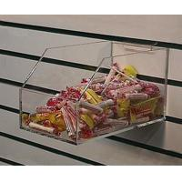 Buy cheap Acrylic Counter Displays Clear acrylic slatwall candy box from wholesalers