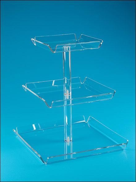 Cheap Acrylic Counter Displays Clear acrylic cake pop display stand for sale