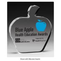 Buy cheap Acrylic Counter Displays Acrylic blue apple health education awards from wholesalers