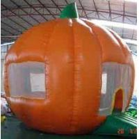 Quality Round orange Inflatable Outdoor Yard Party Tent For Trading Show for sale
