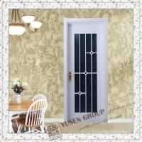 China wood door with glass on sale