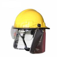Quality Korean typefire fighting helmet for sale
