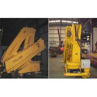 Quality 10T Knuckle Boom Truck Mounted Crane for sale