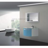 China Model:(LANBOR)Wall Mounted Cheap Wood Bathroom mirror Vanity Corner Cabinet with light FS015B on sale