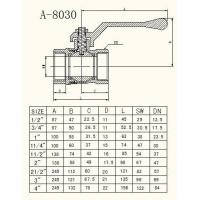 Quality Technical Drawings A-8030 Series for sale