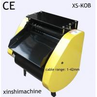 China XS-KOB Automatic Electrical Used Cable Peeling Machine for Copper Cables on sale