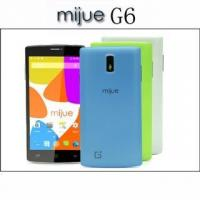 Buy cheap Mijue G6 5.5inch Android Phone Dual Sim Card 4GB ROM Camera 5MP MTK6572 Dual Core Smartphones 3G GPS from wholesalers
