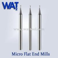 Quality 2 Flute Micro Flat End Mills for sale