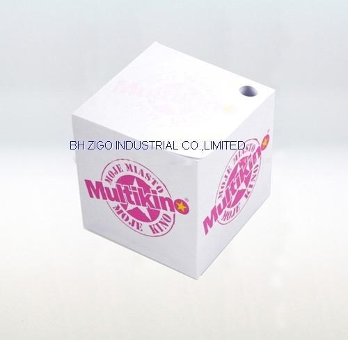 Buy Memo Cube with Pen Hole at wholesale prices