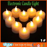 Best LED Smokeless Flickering Battery electronic Candles Tea Light 1.5inch Christmas holiday decoration wholesale