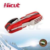 Cheap Multifunction Camping Pocket Knife with Plastic Handle