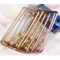 Quality Luxury Electroplate Crystal Transparent TPU Case for Samsung Galaxy S6 edge for sale