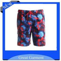 Quality beach pants,high quality casual printed beach pants for sale