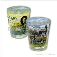 Buy cheap printed glass cup&mug sublimation shot glass from wholesalers