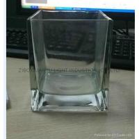 Best Glass Candle Holders Square shaped glass candle holder wholesale