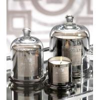 Best Glass Candle Holders new design bell candle jar,electroplate glass candle jar wholesale