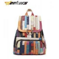 Quality Multicolor leather Women's handbags, shoulder bags, leather messenger bag, leather bag Leisure pack for sale