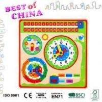 Best best Season clock Puzzle Educational Toys For Kids from best of china wholesale