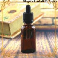 Quality 50ml glass dropper bottle amber e-juice bottle child safety cap trade assurance for sale