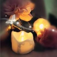 China Newst Design yellow flame Battery Operated Tealight Candles on sale