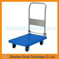 Quality STD Anti static rubber silent trolley for sale