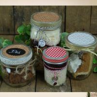 Glass jar 700ml mason jar