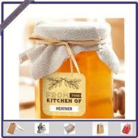 Quality New Design Adhesive Printed Honey Sticker Label for Glass Bottle for sale