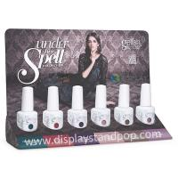 Quality Custom Cardboard Product Display Quickly, Cardboard PDQ Displays for Nail Polish for sale