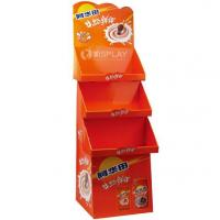 Buy cheap Custom Made Supermarket Cardboard Advertising Display Stands from wholesalers