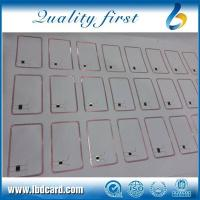 Best CARD INLAY PVC 0.4mm 13.56mhz inlay 3*7 or 3*8 wholesale