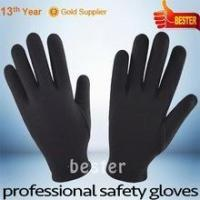Quality Japan black cotton glove 5008 With Great Low Price for sale