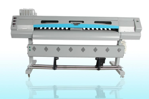 Cheap 1440 DPI Dual X5 Head Six Color Eco Solvent Printer for sale