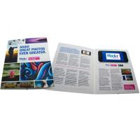 Quality Video In Print Brochure for sale