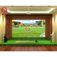 3D Indoor Golf Simulator Game Machine Professional