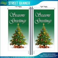 China Street Flags Custom Street Polyester Banner Flags on sale