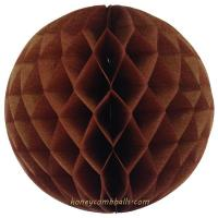 Buy cheap Chocolate Honeycomb Balls 8 Inch For Christmas Wedding Party from wholesalers