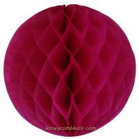 Buy cheap Fuchsia Honeycomb Balls 8 Inch Hanging Party Decoration 20cm from wholesalers