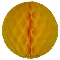 Buy cheap Wholesale 4 Inch 10cm Honeycomb Balls Yellow For Free Shipping from wholesalers