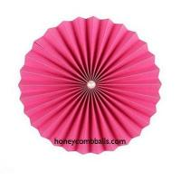 Best Fuchsia Hanging Decoration Pinwheels in Bulk Pearls Pattern wholesale
