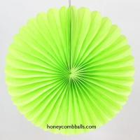 Best Buy Light Green Hollow out Paper Pinwheels for Baby Shower Decor wholesale