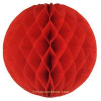 Buy cheap Red Honeycomb Balls 14 Inch For House And Party Decoration from wholesalers
